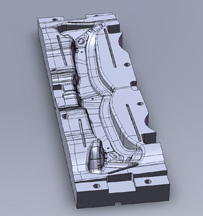 Metal Stamping Die Stage Tooling - 3D CAD View